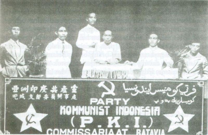 PKI Komisariat Batavia (1925). Sumber foto: Wikipedia